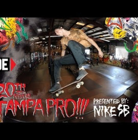 RIDE CHANNEL - LIL WAYNE, SHANE O'NEILL, AND MORE - TAMPA PRO 2014 - DAY 3