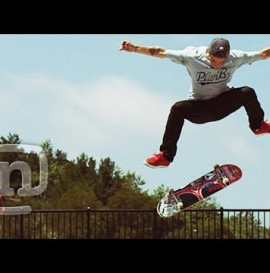 Ryan Sheckler Skateboard Half-Cab Kickflip Slo-Mo Phantom Camera
