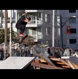 Ryan Sheckler Winning Run Skate Streetstyle - Dew Tour San Francisco 2012