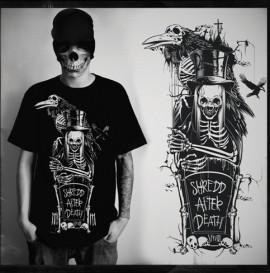 Serum Skateboards Shredd After Death
