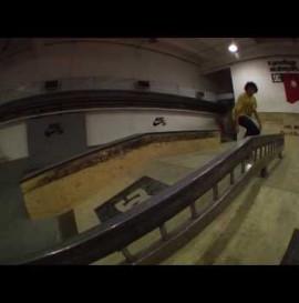 Short Shot: Tomasz Goławski - Kamuflage skatepark - tribute