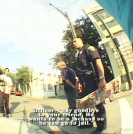 Skateboarder arrested by SFPD