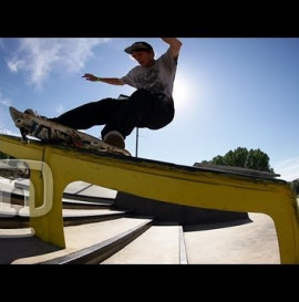 Skateboarder Jordan Maxham At Camp Woodward West: NKA Project