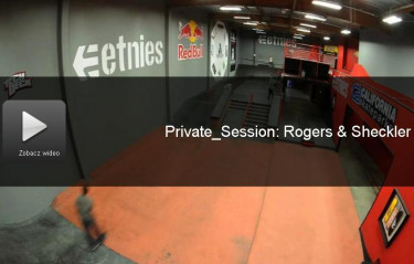 SKATEBOARDER'S PRIVATE SESSION WITH JEREME ROGERS AND RYAN SHECKLER
