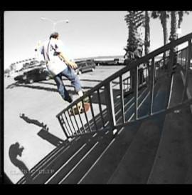 SKATEBOARDING CLASSIC SLAMS #65 - SKATER BREAKS LEG ON HANDRAIL