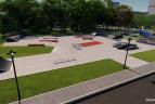Skatepark Betonowy - Łobez