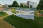 Skatepark betonowy we Wrocławiu