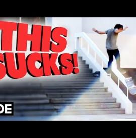 THIS SUCKS! Skateboarding Slam - Alan Marola