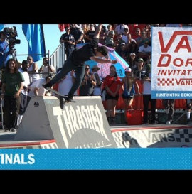 THRASHER MAGAZINE – VAN DOREN INVITATIONAL HUNTINGTON 2015: BEN HATCHELL 1ST PLACE