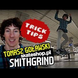 Trick Tips#3 BS Smithgrind Tomasz Goławski | skateshop.pl
