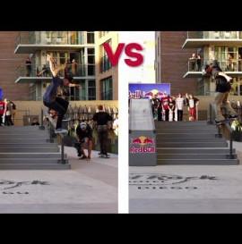 Trick vs Trick: Ryan Sheckler vs Alec Majerus