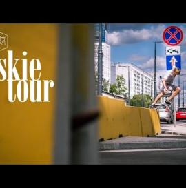 """Tyskie Tour"" - Titus Münster Skateboard Trip to Warsaw (Poland)"