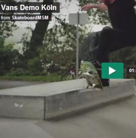 Vans Demo Köln