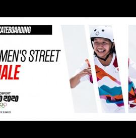 Women's street -SKATEBOARDING | FINAL Highlights | Olympic Games - Tokyo 2020