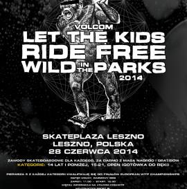 Zawody Volcom Wild In The Parks 2014 - Skate Plaza Leszno.