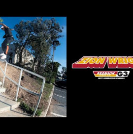 Zion Wright Powers Through Insane Rail